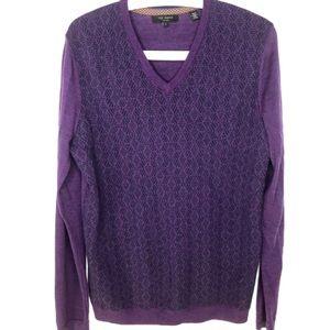 Ted Baker V Neck Sweater